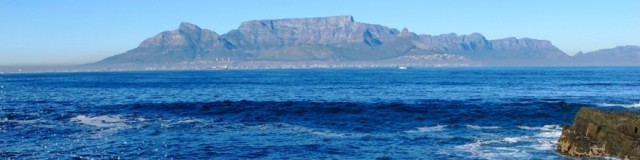 The iconic Table Mountain.