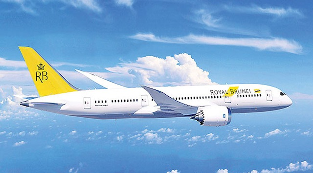 Royal Brunei Airlines Dreamliner.