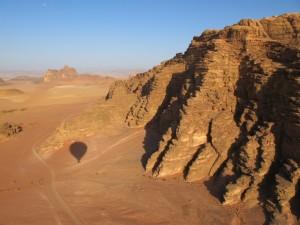 Wadi Rum-hot air balloon