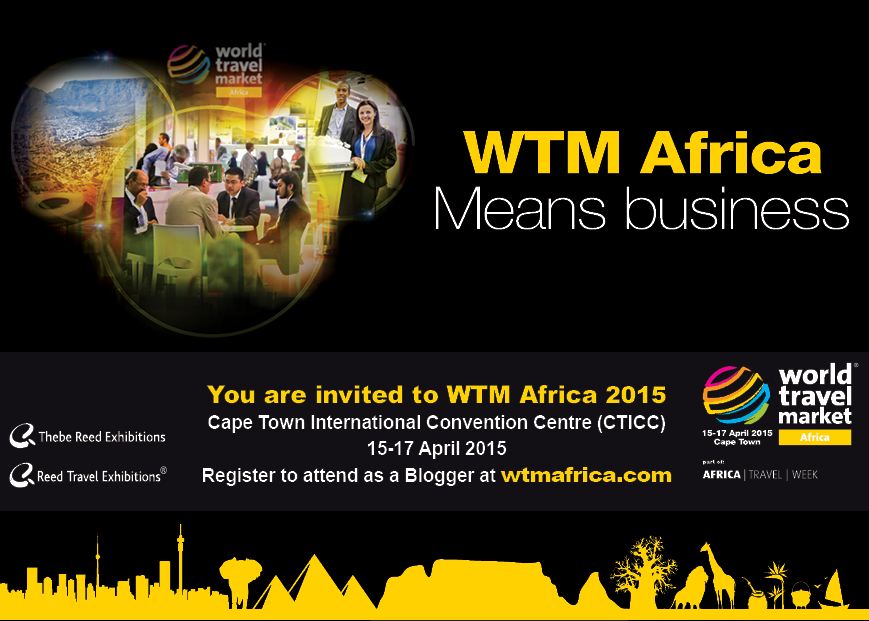Travel blogger events at WTM Africa 2015