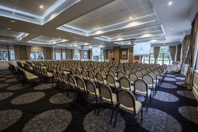 The plenary hall at the Kingsmills Hotel.